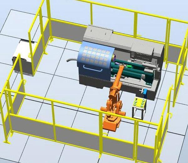 DLRB-1410B Обучающая система: Погрузочный и разгрузочный робот