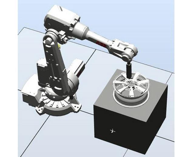 DLRB-2600 Обучающая система: Полирующий робот
