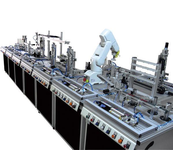 DLRB-900A Стенд ''Модульная гибкая производственная линия''