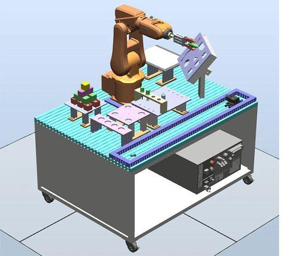 DLRB-120 Обучающая система:  Основы индустриальных роботов