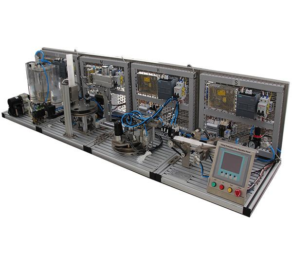 DLPCS-400     Filling Production Line Training System