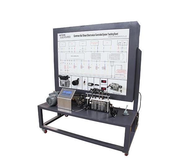 DLQC-FDJ-R003 Учебная доска: классический электронно управляемый дизельный двигатель