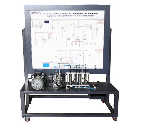 DLQC-FDJ-R004 Учебная доска: система подачи топлива дизельного топлива (доп. Роторный насос/ масляной насос)