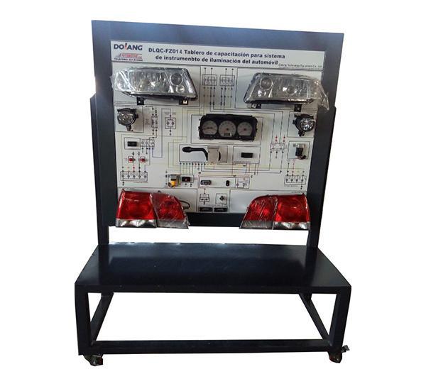 DLQC–FZ014 Automotive lighting / meter system training platform