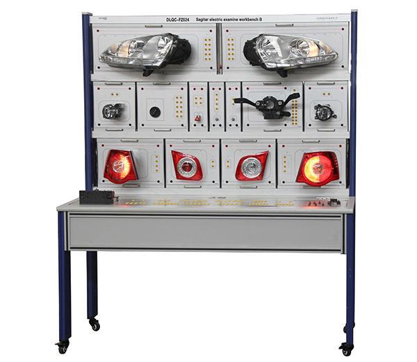 DLQC–FZ024 Электрическая проверка Sagitar B