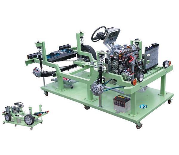 DLQC-D008 Разрезанный образец двигателя и трансмиссии. (Разрезанная платформа модели FF)