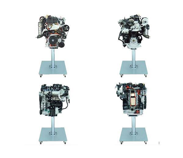 DLQC-D0011 Разрезанный образец двигателя