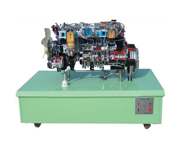 DLQC-D0018 Структурно демонстрационная платформа 9-цилиндрового дизельного двигателя
