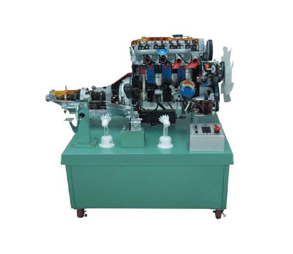 DLQC-D0019 Структурно демонстрационная платформа 4-цилиндрового дизельного двигателя